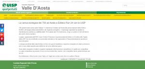 La carica ecologica dei 700 ad Aosta a Edileco RUN24 con la UISP
