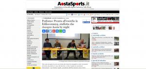 Podismo: pronta all'esordio la Edileco RUN24, staffetta che riscopre Aosta by night